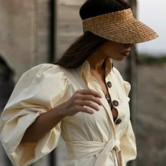 7 Chic Visors You'll Actually Want To Be Seen In This Season