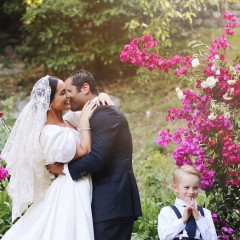 LPA Designer Pia Arrobio Baroncini's Italian-Meets-Californian Wedding