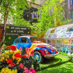 Celebrate The Summer Of Love At This Groovy, Woodstock-Inspired Oasis