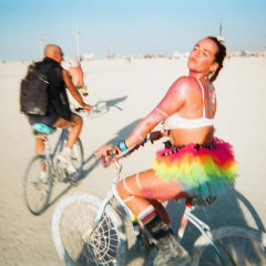 Princess Stephanie's Daughter Pauline Ducruet Royally Roughs It At Burning Man