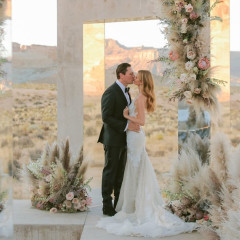 Inside DJ Tiësto's Beyond-Magical Wedding In The Utah Desert