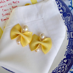 It's National Pasta Day, And You NEED These Farfalle Earrings!