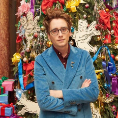 Luke Edward Hall's Mythical Christmas Tree Is All The Holiday Decor Inspiration You Need