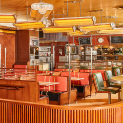 The Chicest Retro-Style Diner Just Opened Up In Soho