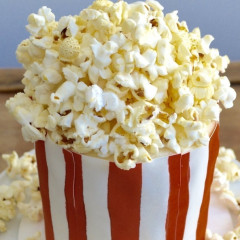 This Popcorn Cake Is Exactly What Your Oscars Party Desperately Needs