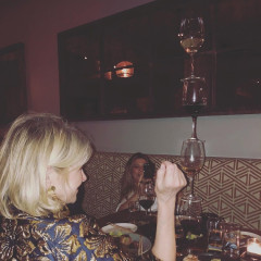 Martha Stewart Stacking Wine Glasses At A Restaurant Is Life Goals