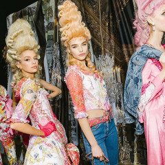 I'm Obsessed With Moschino's Funky Marie Antoinette Runway Show