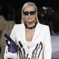 Yolanda Hadid Hit The Runway At Paris Fashion Week