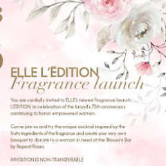 L'EDITION Fragrance Launch: Honor The Past and Inspire The Future
