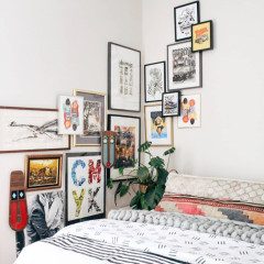 5 Fresh Ways To Display Art In Your Home