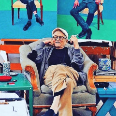 Both David Hockney & I Are Chain-Smoking Through Coronavirus