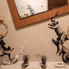 Inside Banksy's Rat-Infested Bathroom
