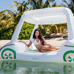 The Golf Cart Pool Float Is This Summer's Hottest Accessory