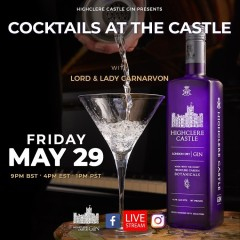 Cocktails at the Castle Present By Highclere Castle Gin
