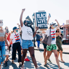 A-Listers Join Montauk's Love At The End March For Black Lives Matter