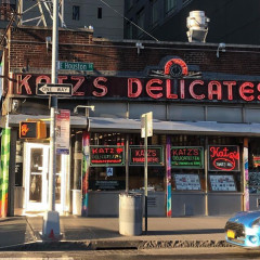 Katz's Deli Opens Outdoor Seating For Pastrami Fans Who Need Their Fix