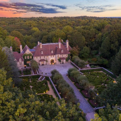 Inside Vince Camuto's Lavish Connecticut Chateau, Heading To Auction