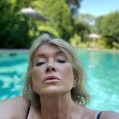 Martha Stewart Is Too Hot To Handle In This Pool Thirst Trap