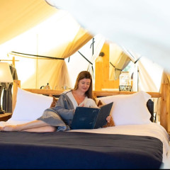 Summer Glamping at Governors Island