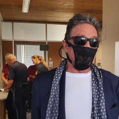 Tech Tycoon John McAfee Wore A Lace Thong As A Mask... And Got Arrested At The Airport