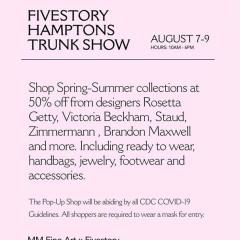 Fivestory x Southampton Trunkshow