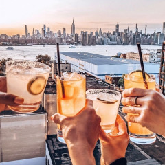 Outdoor Happy Hour: The 10 Best Spots Serving Up Al Fresco Specials In NYC