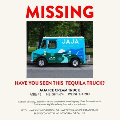 Someone Stole The JAJA Tequila Truck In Southampton