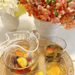 Send Off Summer With A Glass Of Aerin Lauder's Sangria