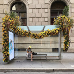 Lewis Miller Transforms Fifth Avenue Into A Floral Fantasy To Honor 9/11