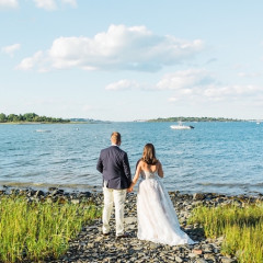 A Backyard Wedding Wasn't The Plan, But It Sure Was Perfect For This Happy Couple