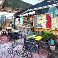 Inside Talk Story, Williamsburg's New Bohemian Rooftop Bar With A View