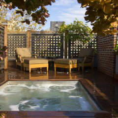 It Doesn't Get More Luxe Than This UES Townhouse's Rooftop Mini Pool