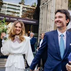 The Supermodel & The Fashion CEO: Natalia Vodianova & Antoine Arnault Wed In Paris