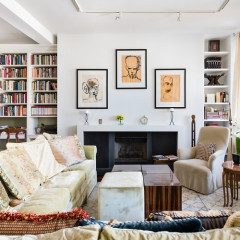 Toni Morrison's Tribeca Apartment Is A Book Lover's Dream