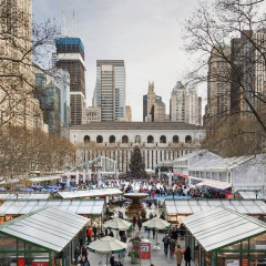 Bank Of America Winter Village Debuts At Bryant Park