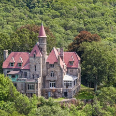 Would You Leave NYC For This $3.45 Million Hudson Valley Castle?