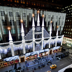 'Tis The Season For The Saks Fifth Avenue Holiday Window Spectacular!