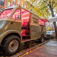 Michelin-Starred Musket Room Is Serving Caviar & Chips Out Of A Vintage Food Truck