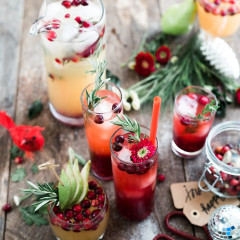 Get Into The Holiday Spirit With These Festive DIY Cocktails
