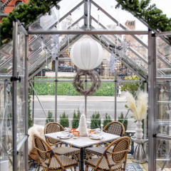 The Coziest (Covered) Outdoor Dining Options In NYC This Winter