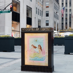 Art Production Fund Gives Rockefeller Center A Whimsical Makeover With This New Public Installation