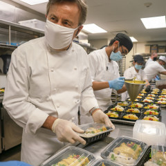 Chef Daniel Boulud Dishes On Feeding New Yorkers In Need