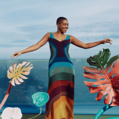How Gorgeous Is Tiffany Haddish In Saks Fifth Avenue's Spring Campaign!!?