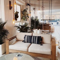 This Hamptons-Themed Rooftop Bar Brings The Beach Vibes To The City