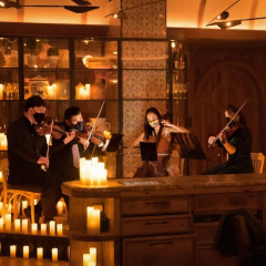 Candlelit Dinner At Leuca: From Bach To Beatles