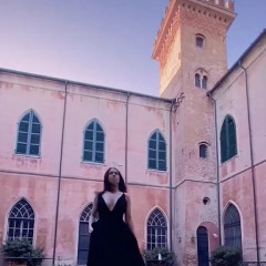 This 19-Year-Old TikToker Documents Life In Her Family's Italian Castle