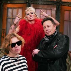 Elon Musk, Grimes, & Miley Cyrus Had An Alien & Crypto-Themed