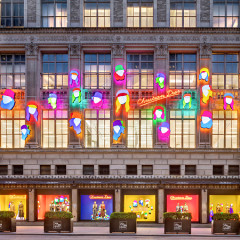 Dior Gives Saks Fifth Avenue A Bright, Colorful Facelift