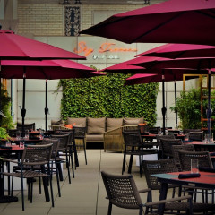 A Hidden Rooftop Terrace With Romantic Italian Vibes Just Debuted In Midtown!