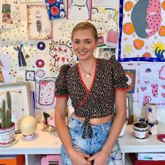 Meet Tatiana Alida Carrelet, The Stylish Illustrator Taking London Society By Storm